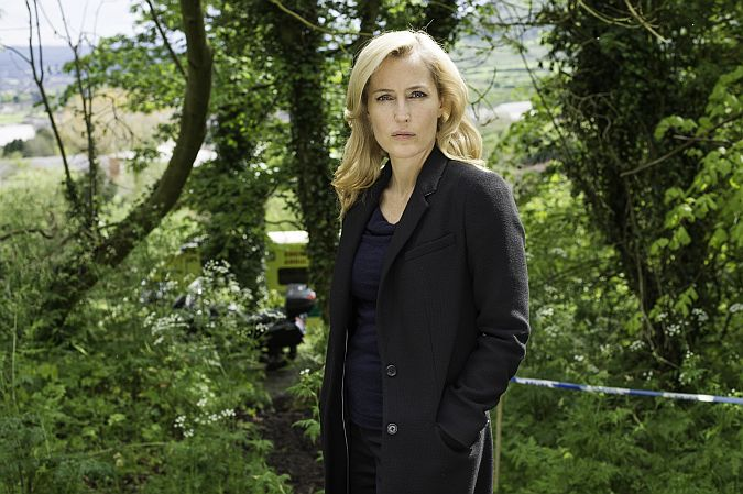 The Fall....Gillian Anderson as Stella Gibson.